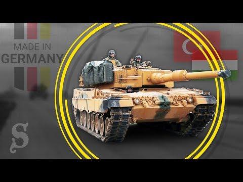 Nordsyrien: Deutsche Panzer gegen deutsche Waffen?