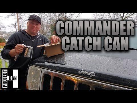 JEEP COMMANDER XK OIL CATCH CAN RETRO FIT FOR 5.7 HEMI & OIL CHANGE