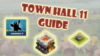 Clash of Clans - Town Hall 11 Guide   When to upgrade? Maxing vs Rushing