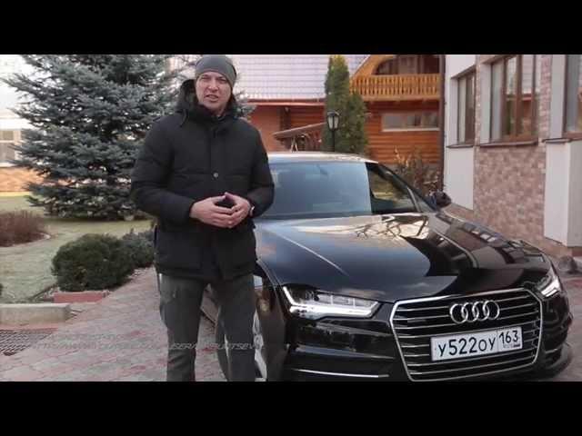 Audi A7 sportback Тест-драйв.Игорь Бурцев.
