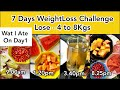 How To Lose Weight Fast 4Kgs In 7 Days || DAY 1 Diet Plan || GM Diet || Quick & Healthy WeightLoss