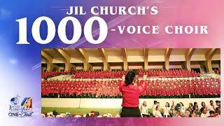 JIL Church's 1000-voice Choir   JIL Church 41st Anniversary
