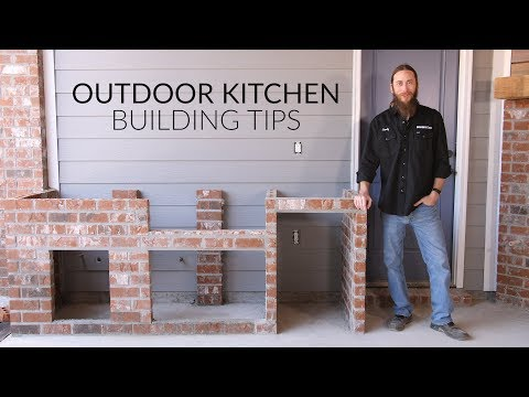 Outdoor Kitchen Planning & Building Process   The Watson Family's Kitchen Build   BBQGuys.com