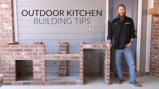 Gambar cover Outdoor Kitchen Planning & Building Process | The Watson Family's Kitchen Build | BBQGuys.com