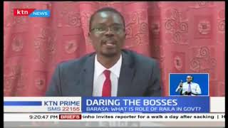 Barasa: What is role of Raila in government? MPs Jumwa and Barasa fault handshake government