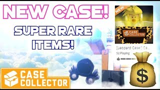 Roblox | Case Collector - LEOPARD CASE!!!! [Limited case]