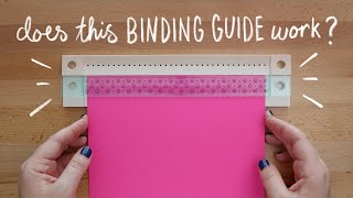 Testing We R Memory Keepers Bookbinding Guide | Sea Lemon