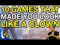 10 Times Games Made You Look Like A Clown