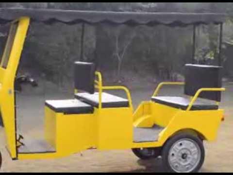 Electric Rickshaws By Dways