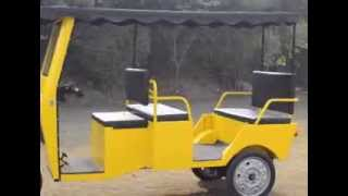 Electric Rickshaws by Speedways - Beautiful Battery Operated Auto Rickshaws manufactured in India