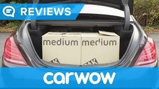 Mercedes S-Class 2017 practicality review | Mat Watson Reviews