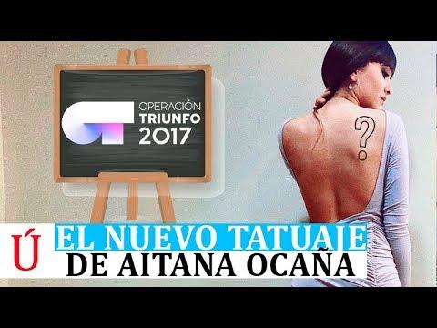 Aitana desata las redes con su nuevo tatuaje tras Operación Triunfo, Lo Malo y Arde