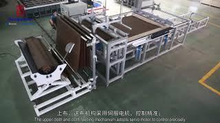 Sunproof Fabric Automatic Spreader  Stacker Machine