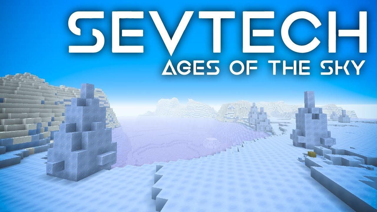 SevTech: Ages of the Sky Ep. 50 Boss Battle on Uranus