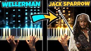 Wellerman vs Pirates Of The Caribbean [Epic Piano Battle]