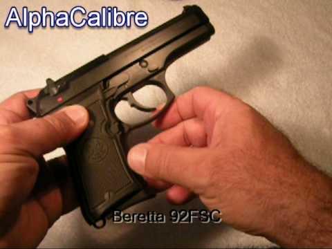 Beretta 92FSC 9mm 92FS Compact M9