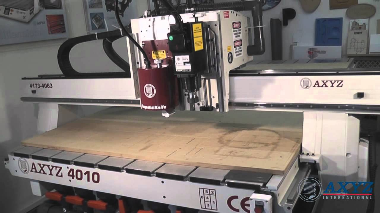 CNC Router for Interiors, Woodworking, Plastic & Metal | Pacer by AXYZ