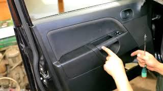 Ford Fiesta disassembly door Full HD (Ford Fiesta разборка дверей)