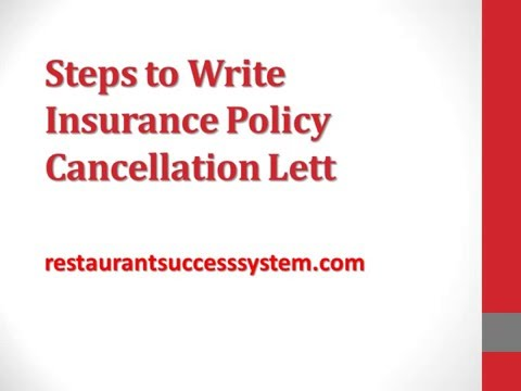 Cancellation Of Insurance Policy Letter from i.ytimg.com