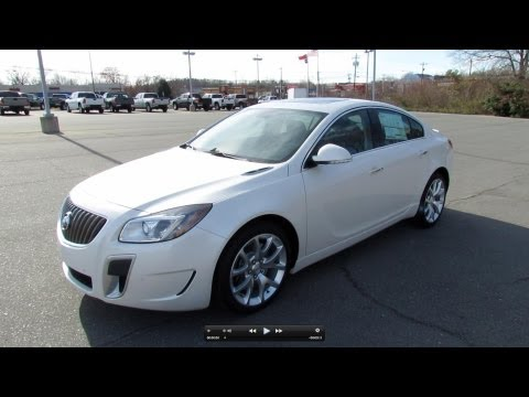 2012 Buick Regal GS Start Up, Exhaust, and In Depth Tour