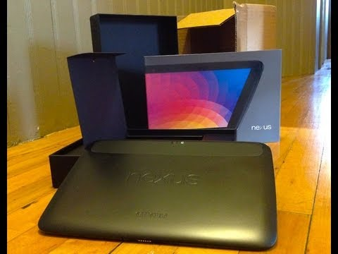 Google Nexus 10 Unboxing | Pocketnow