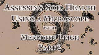 Assessing Soil Health Using a Microscope with Meredith Leigh Part 2