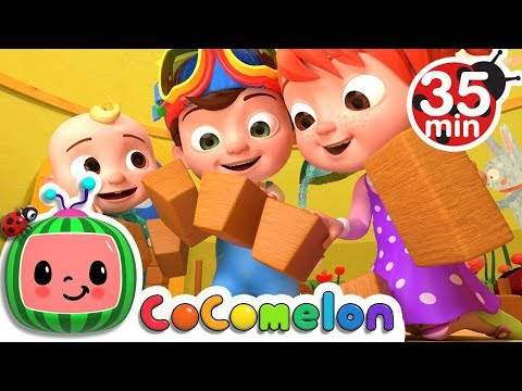 London Bridge is Falling Down  +More Nursery Rhymes & Kids Songs  ABCkidTV