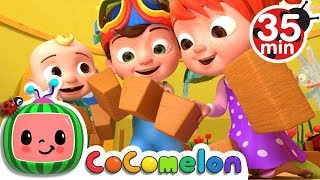 London Bridge is Falling Down | +More Nursery Rhymes & Kids Songs - CoCoMelon