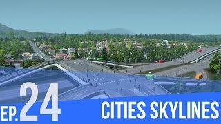 "Cities:Skylines | #24 | ""Rozbudowa stref"" 