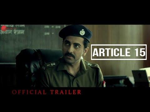 Article 15  Movie Trailer  Ayushmann Khurrana  Zee Studios