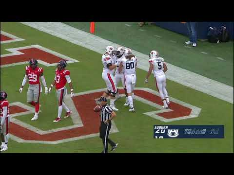 Auburn Football vs Ole Miss Highlights
