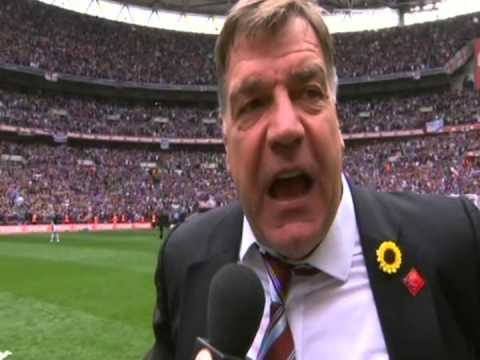 Nolan Tackles Allardyce During Interview