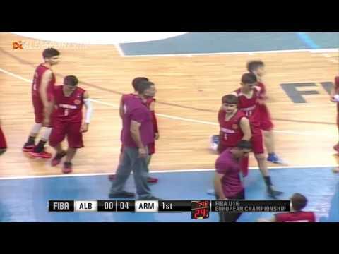 FIBA U16 | ALBANIA vs ARMENIA | GAME 2 | 19/07/16
