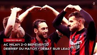 AC Milan 2 0 Benevento Le cas Rafael Leao Nostro Milan Serie A 2020 2021
