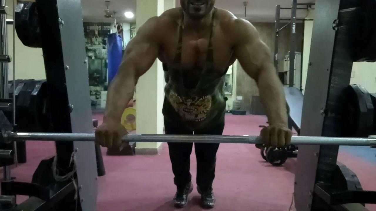 Smith Machine Ladder Push Ups Youtube