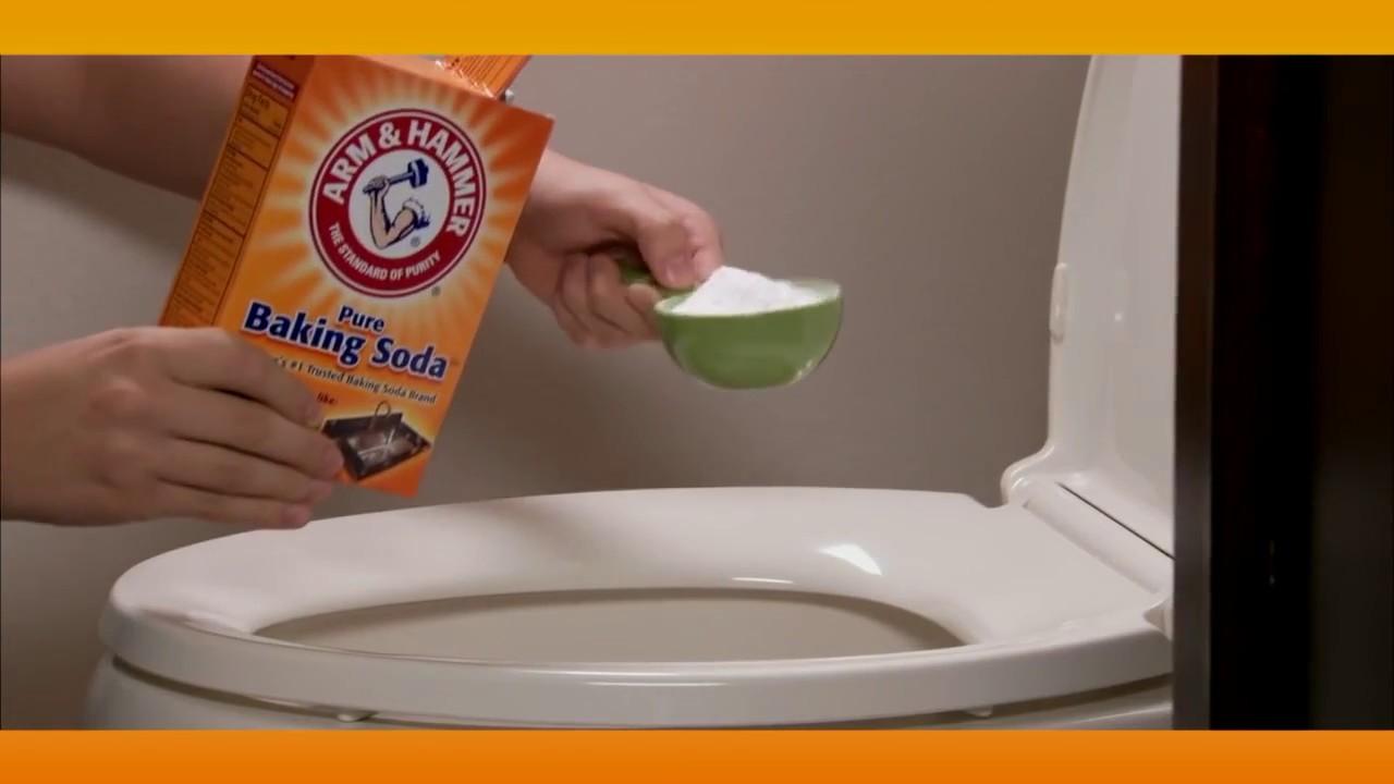 Cómo Limpiar Tu Baño Con Bicarbonato De Sodio Arm Hammer Youtube