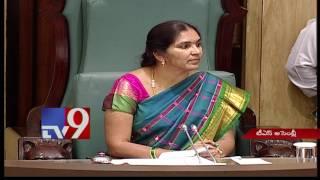 TS Assembly : Kishan Reddy demands repair of Hyderabad roads - TV9