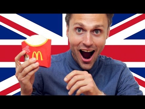 Americans Try British McDonald's