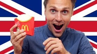 Repeat youtube video Americans Try British McDonald's