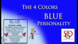 Blue learning style - blue personality profile