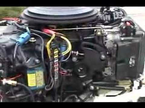 40hp evinrude vro outboard motor youtube.