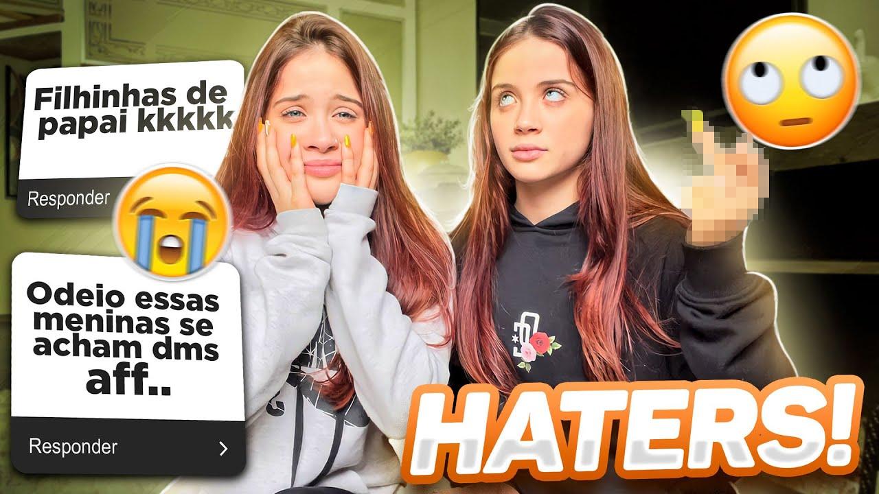 RESPONDENDO HATERS !!  SOMOS MIMADAS??..