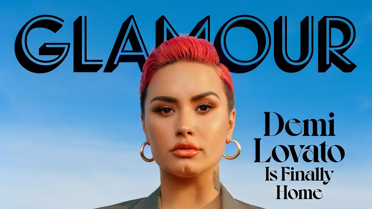 Demi Lovato talks about her sexuality in Glamour magazine