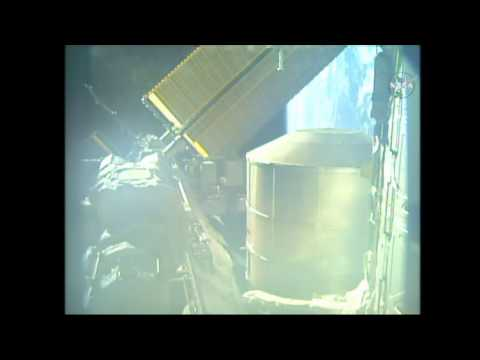 ISS Expedition 43 - Relocation of Permanent Multipurpose Module (PMM)  from Unity Module Tranquility