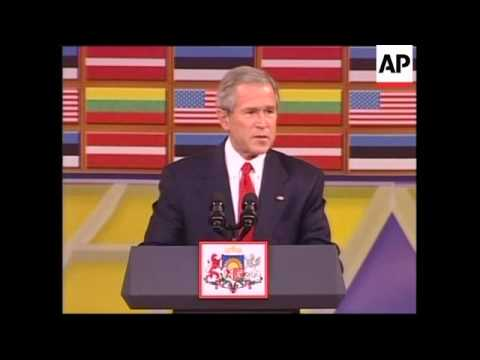 Statements by Bush and Baltic leaders