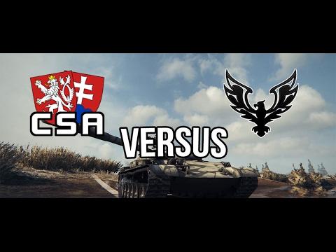 World of Tanks | FAME vs CSA | Stronghold [Defense]