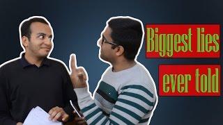 Biggest lies ever told | TVC Vines