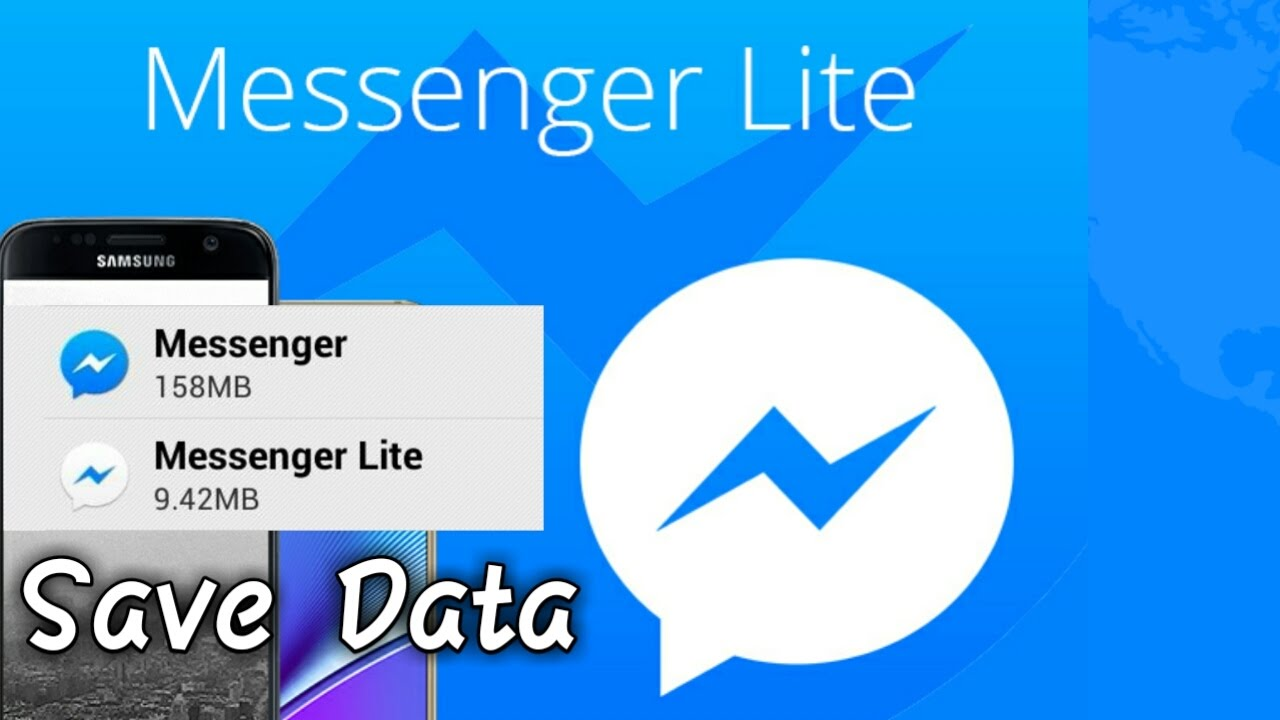 Download Messenger Lite And Save Data!