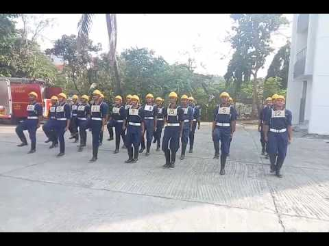 SFTC Batch 103 squad drill at WADALA TRAINING CENTRE, Mumbai