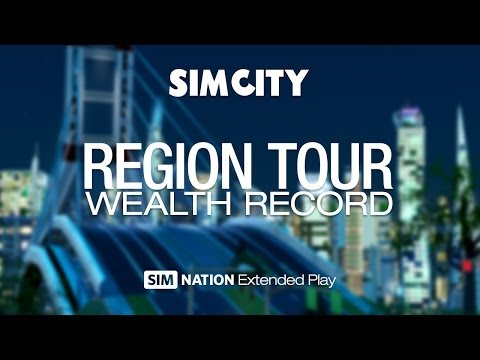 SimCity: Wealth Record - Region tour